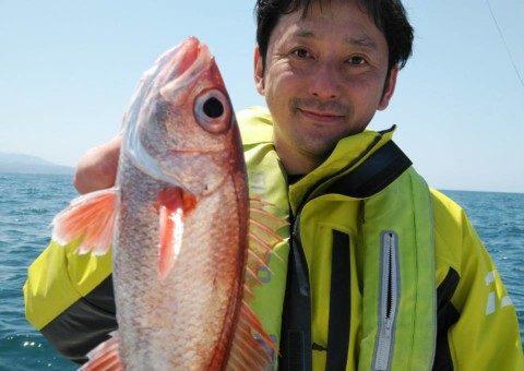 5月20日ノドグロ、アカムツ釣り
