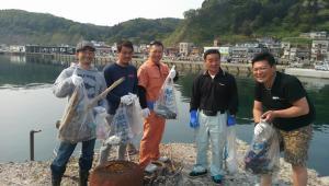 小泊港 ボランティア清掃活動